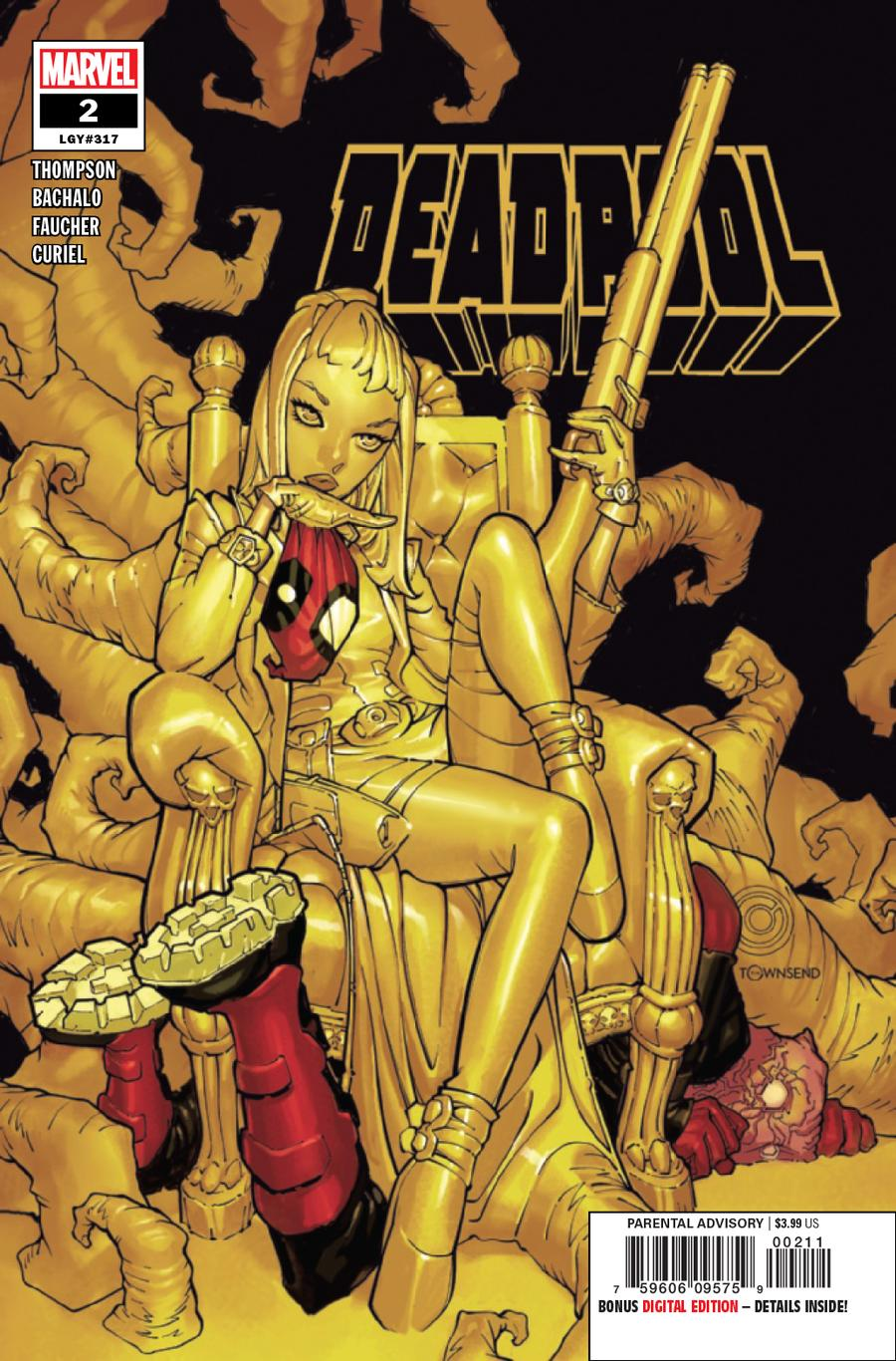 Deadpool Vol 7 #2 Cover A Regular Chris Bachalo Cover
