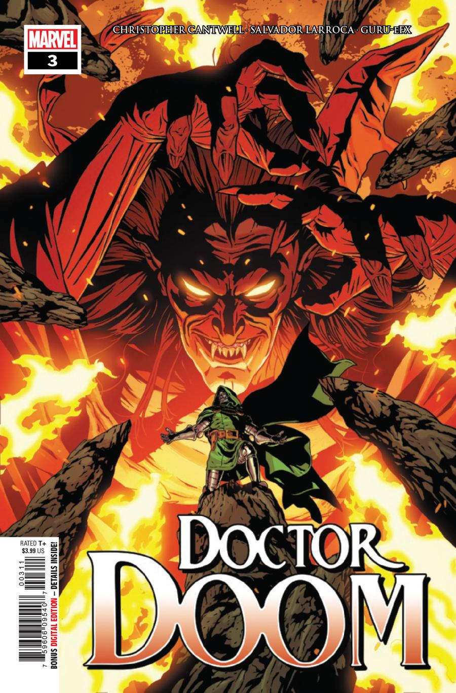 Doctor Doom #3 Cover A 1st Ptg Regular Aco Cover