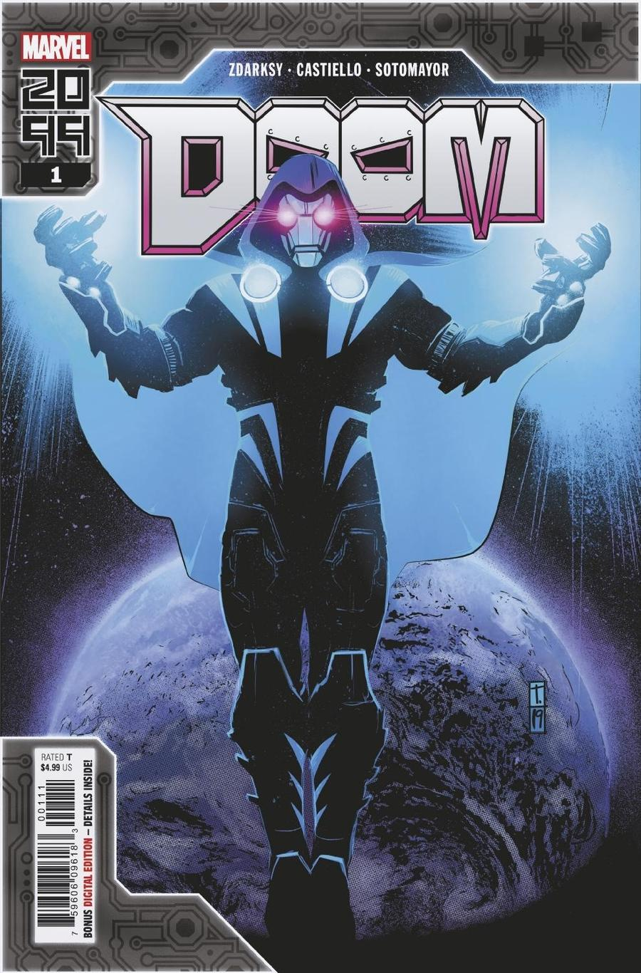 Doom 2099 One Shot Cover A Regular Tomm Coker Cover