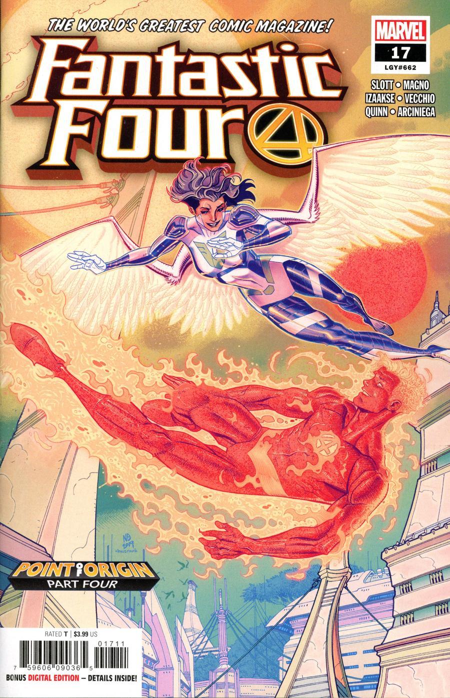 Fantastic Four Vol 6 #17 Cover A Regular Nick Bradshaw Cover