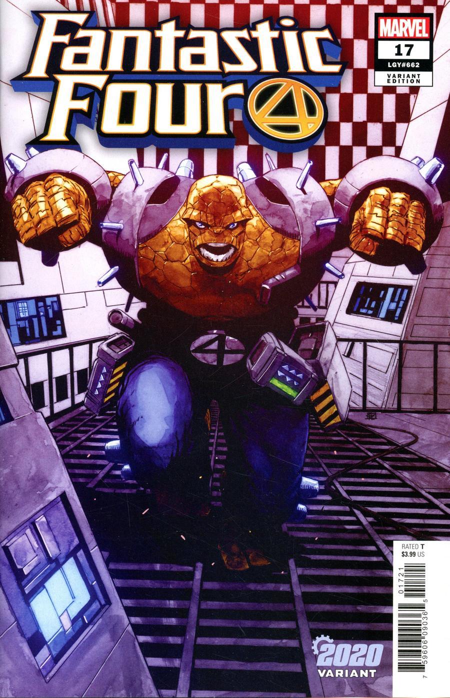 Fantastic Four Vol 6 #17 Cover B Variant Khoi Pham 2020 Cover