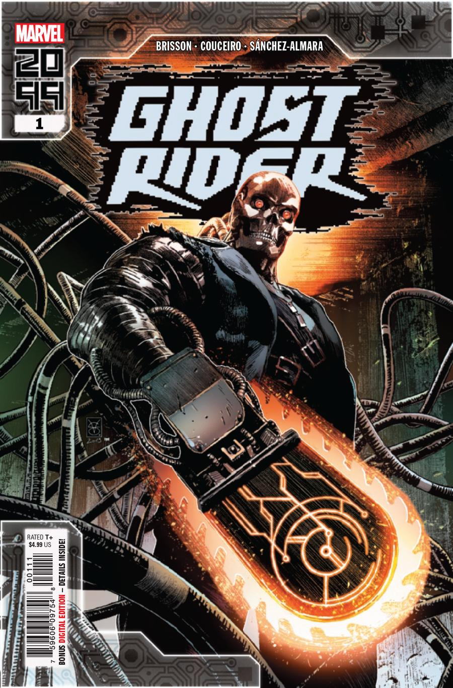 Ghost Rider 2099 One Shot Cover A Regular Valerio Giangiordano Cover