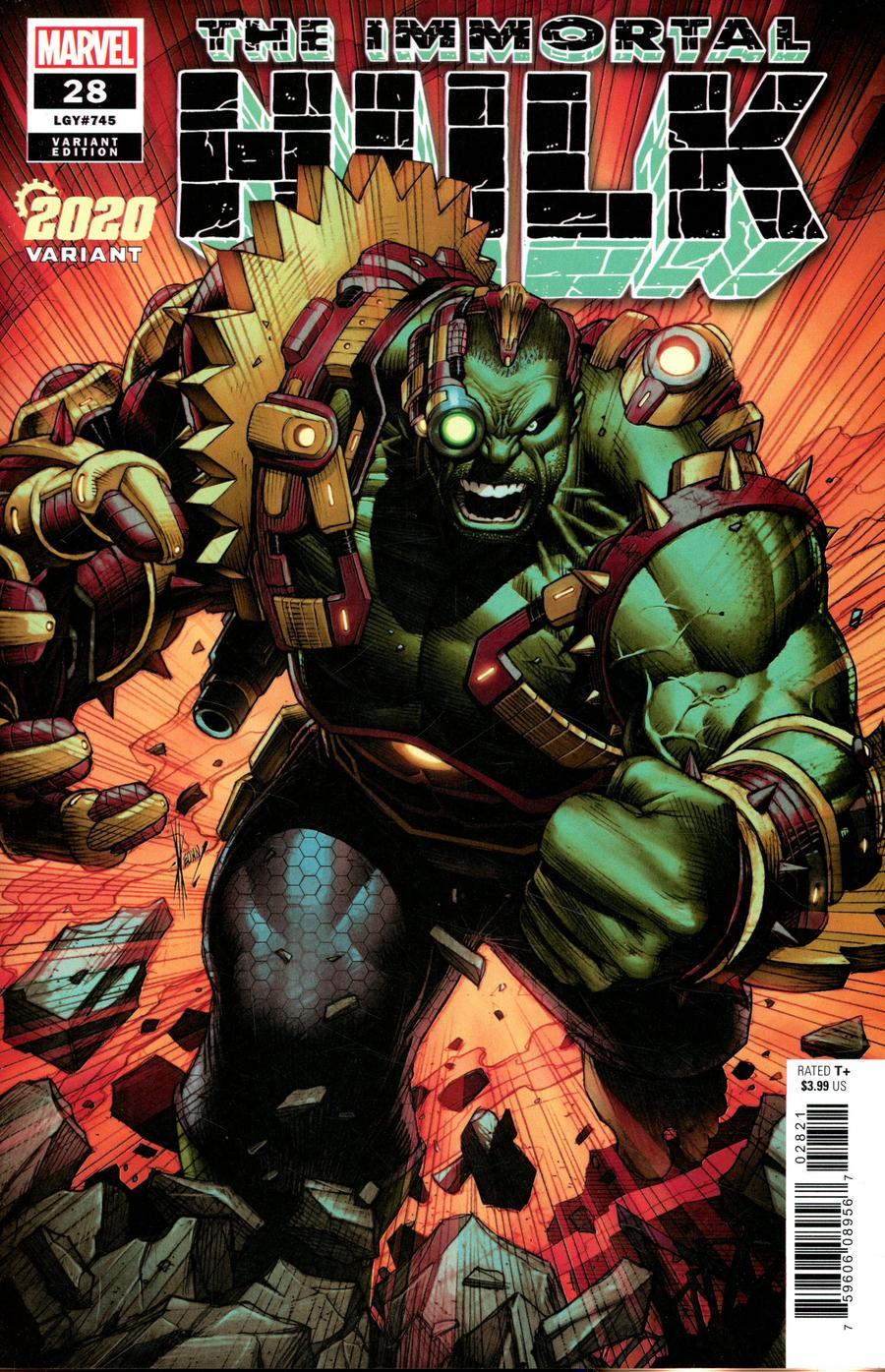 Immortal Hulk #28 Cover B Variant Dale Keown 2020 Cover