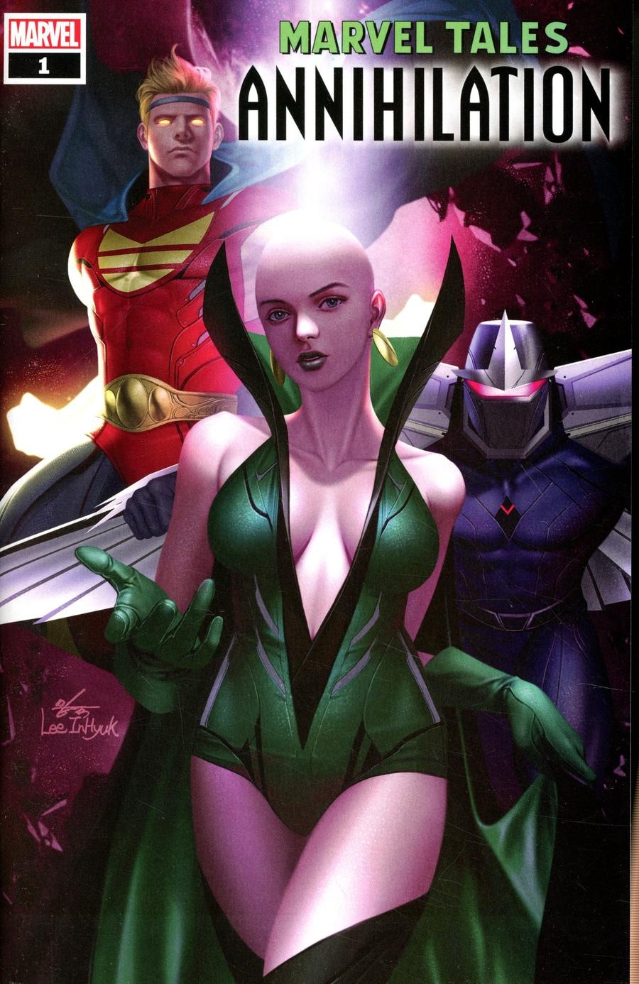 Marvel Tales Annihilation #1 Cover A Regular Inhyuk Lee Cover