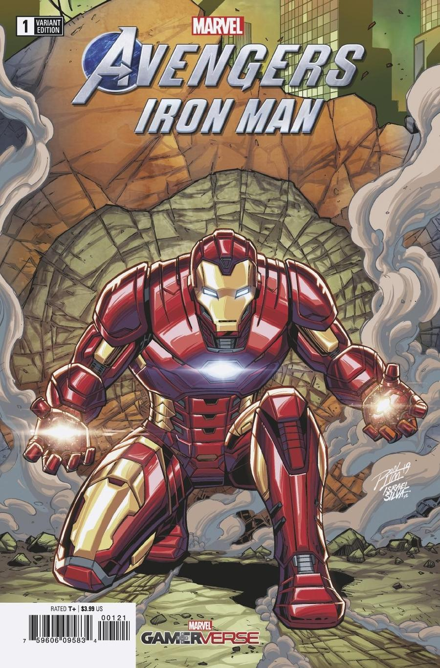 Marvels Avengers Iron Man #1 Cover B Variant Ron Lim Cover