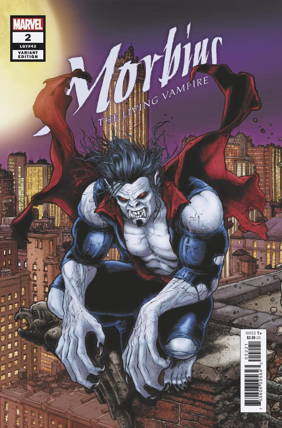 Morbius #2 Cover B Variant Juan Jose Ryp Connecting Cover