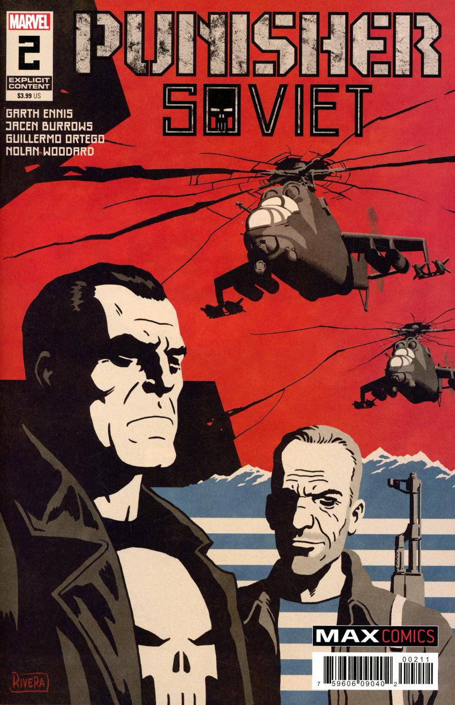 Punisher Soviet #2 Cover A Regular Paolo Rivera Cover
