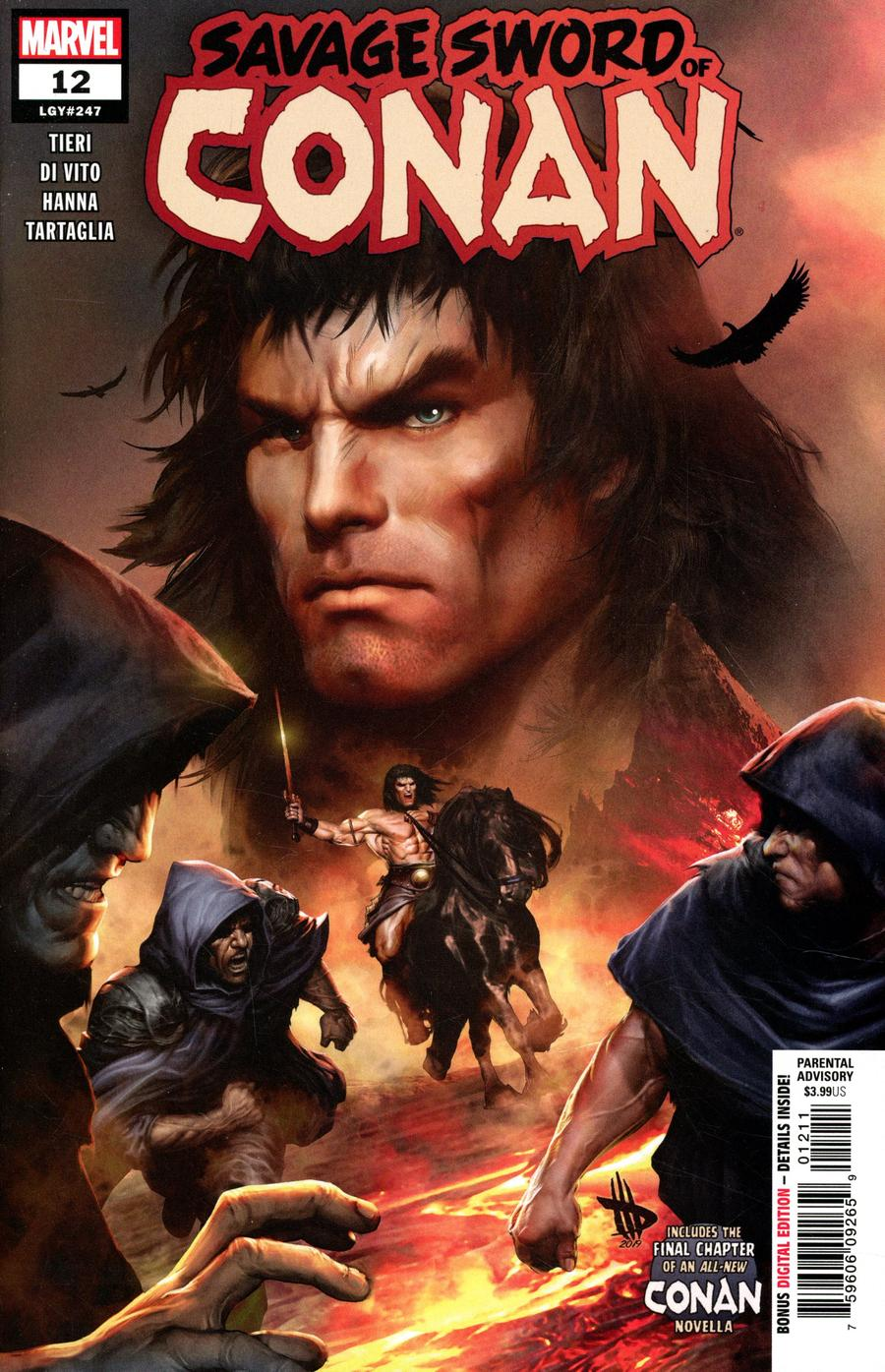 Savage Sword Of Conan #12 Cover A Regular Dave Wilkins Cover