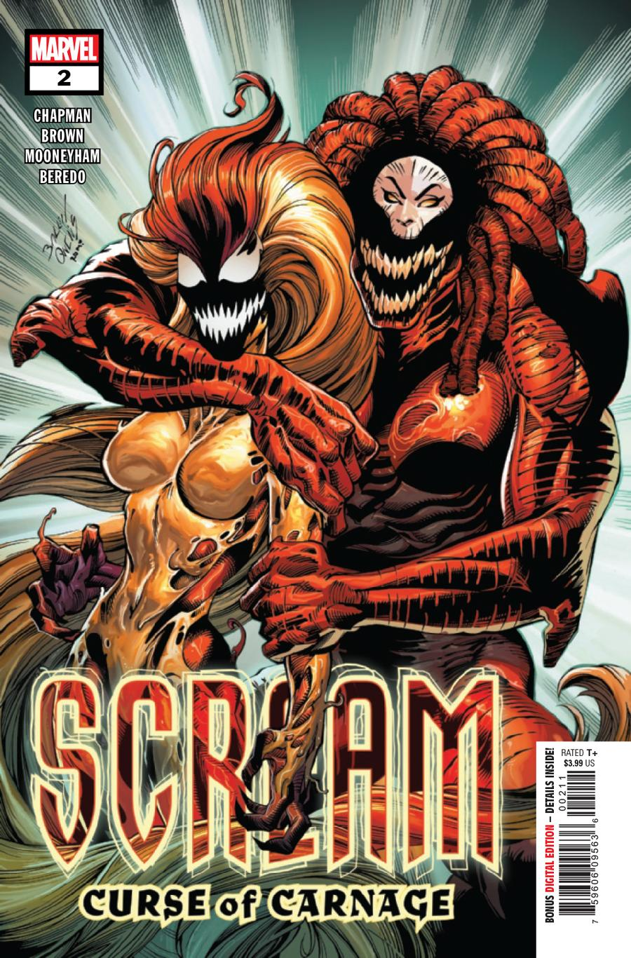 Scream Curse Of Carnage #2 Cover A Regular Mark Bagley Cover