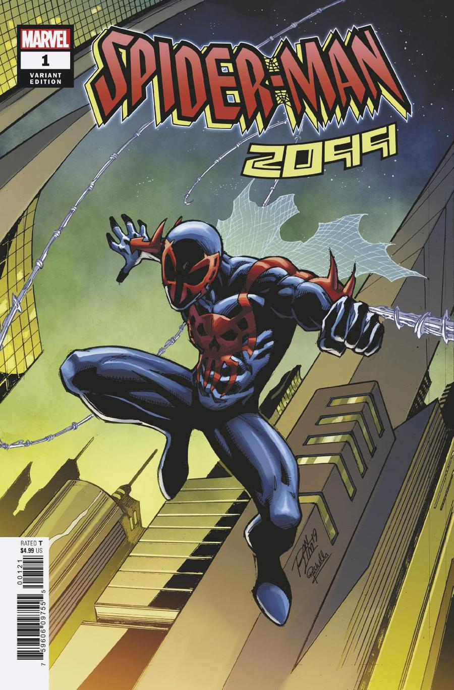 Spider-Man 2099 One Shot Cover B Variant Ron Lim Cover