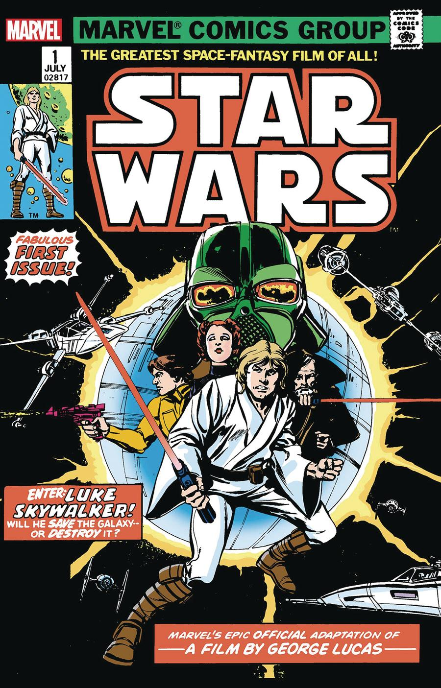Star Wars (Marvel) Vol 1 #1 Cover D Facsimile Edition