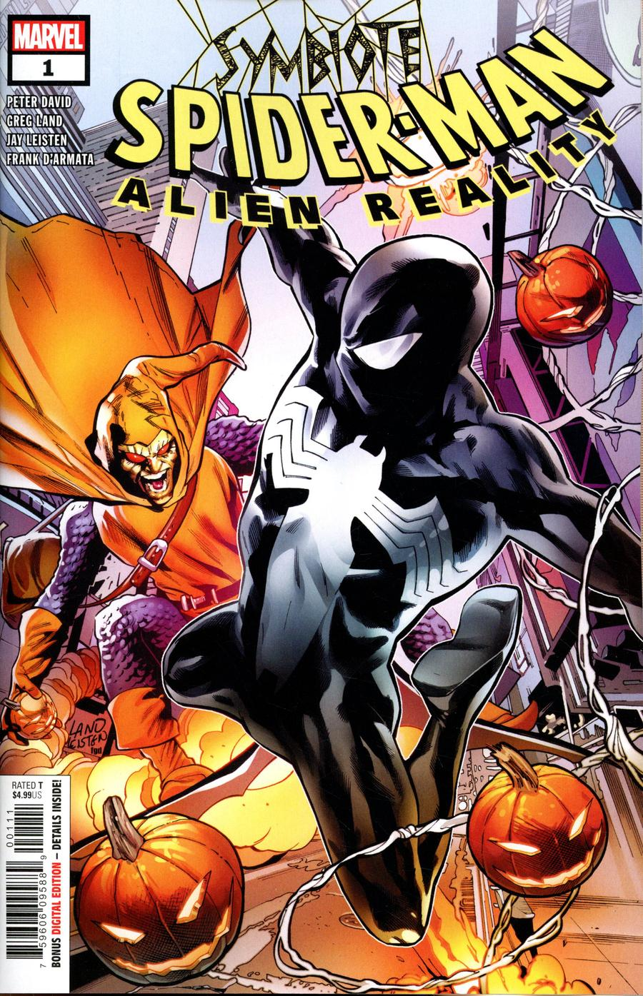 Symbiote Spider-Man Alien Reality #1 Cover A Regular Greg Land Cover