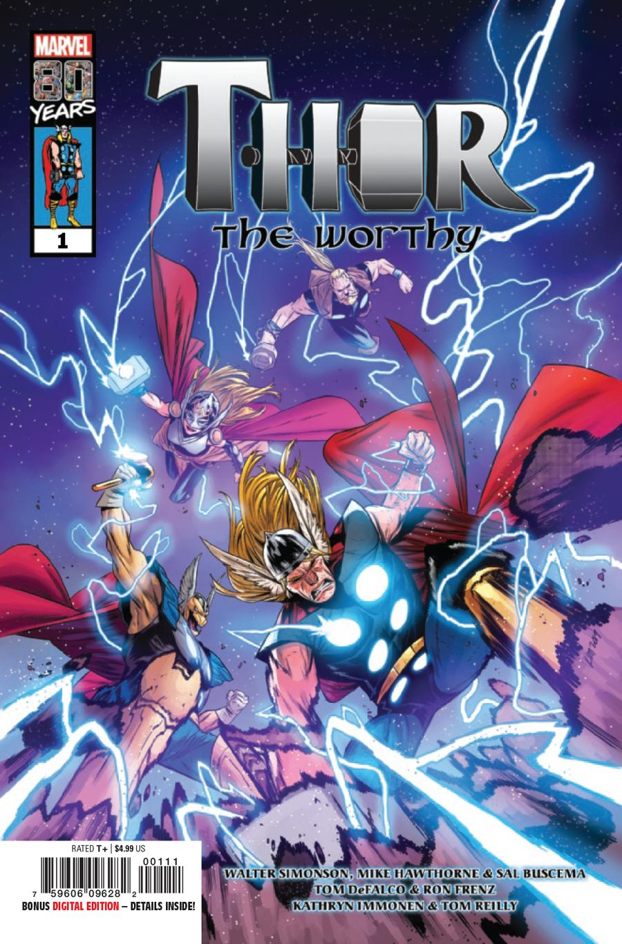 Thor The Worthy One Shot Cover A Regular Kim Jacinto Cover