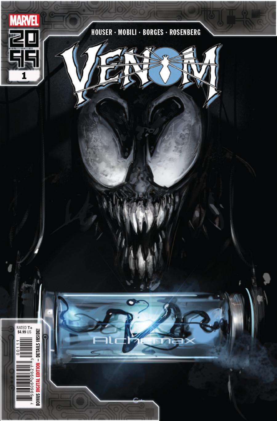 Venom 2099 One Shot Cover A Regular Clayton Crain Cover