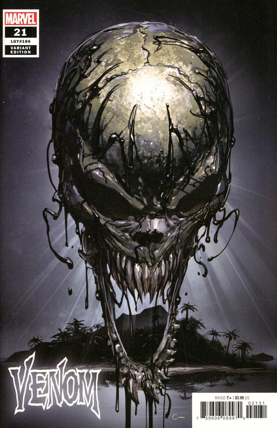 Venom Vol 4 #21 Cover C Variant Clayton Crain Teaser Cover
