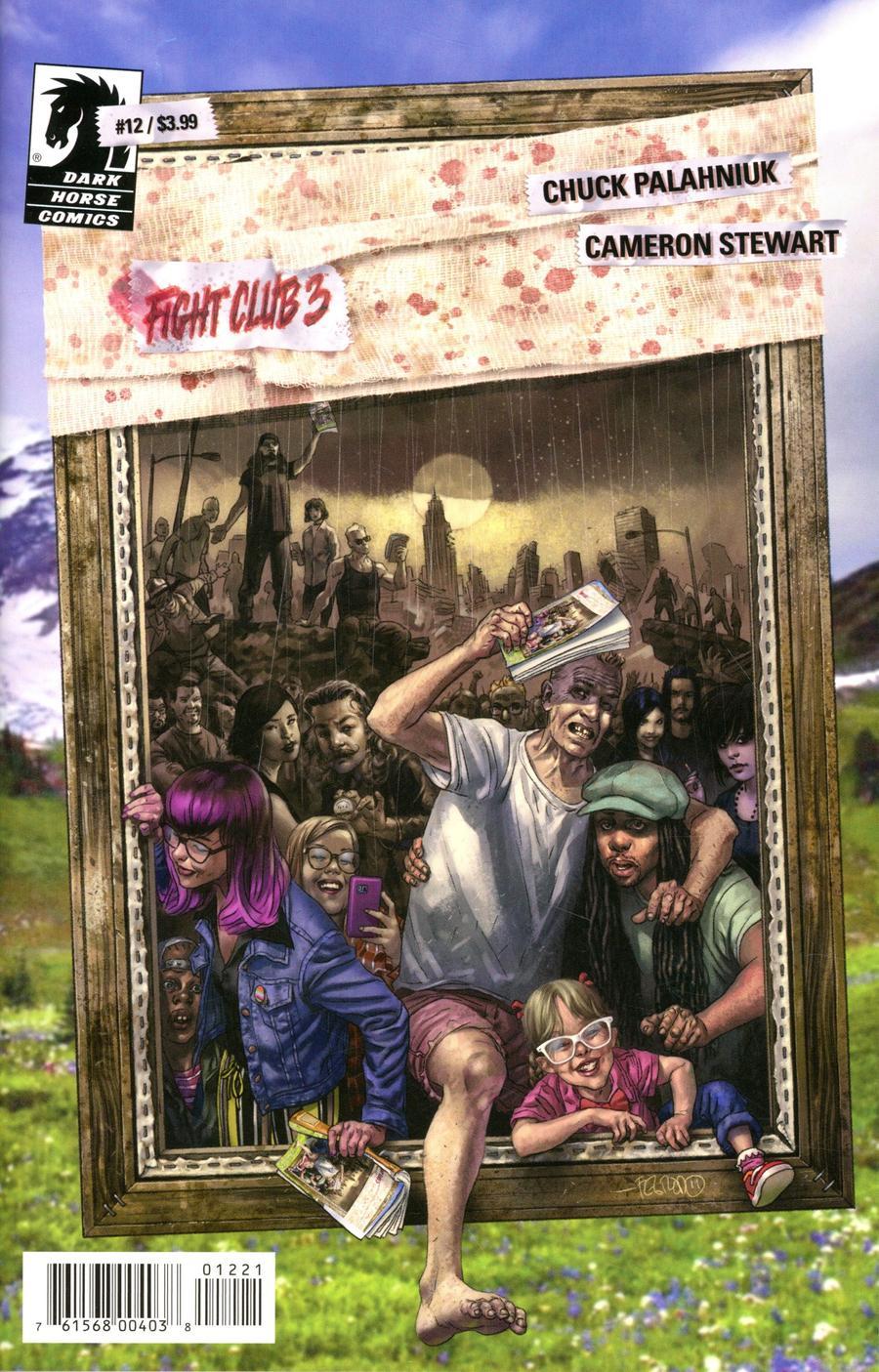 Fight Club 3 #12 Cover B Variant Duncan Fegredo Cover
