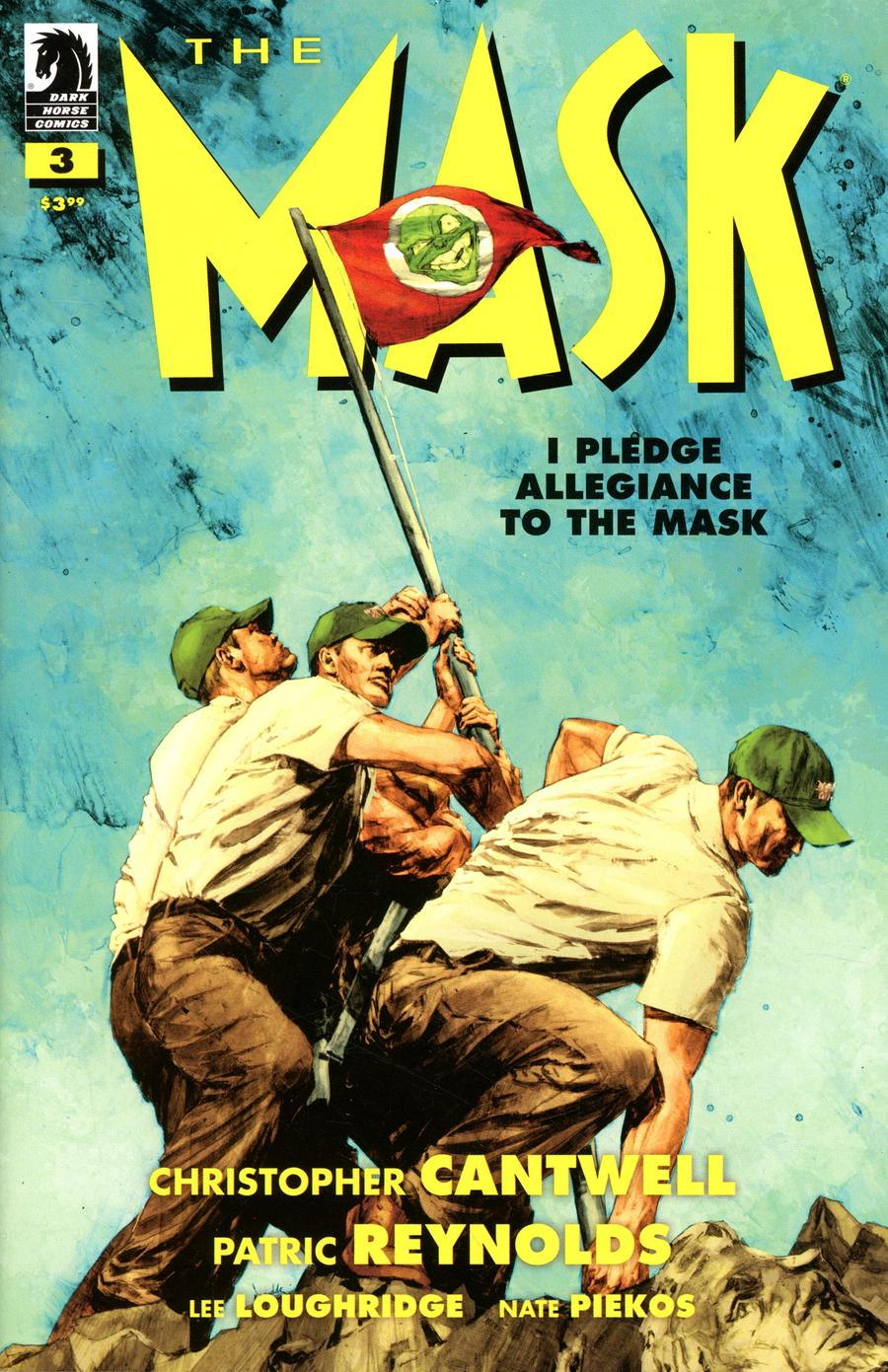 Mask I Pledge Allegiance To The Mask #3 Cover A Regular Patric Reynolds Cover