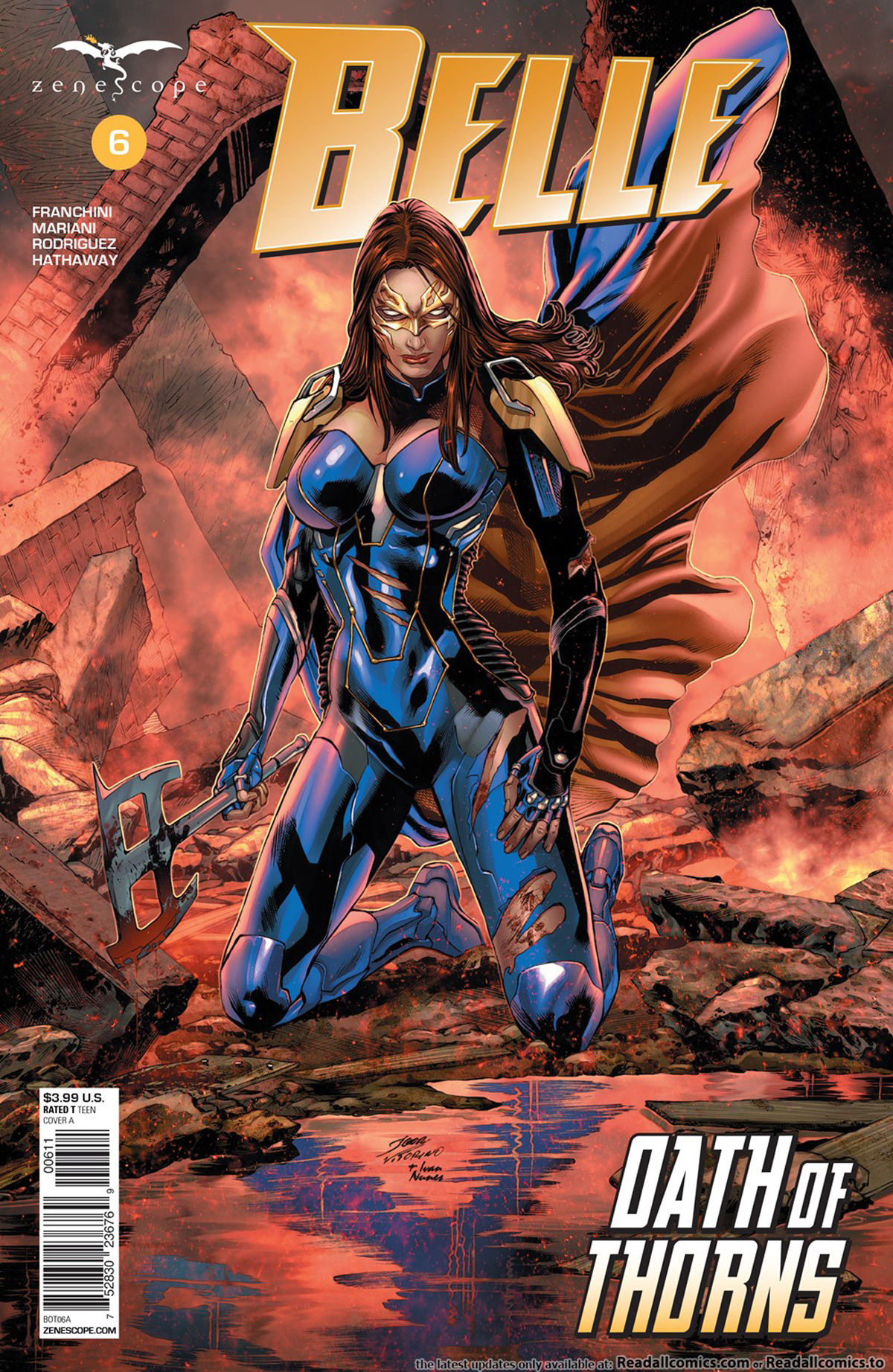 Grimm Fairy Tales Presents Belle Oath Of Thorns #6 Cover A Igor Vitorino