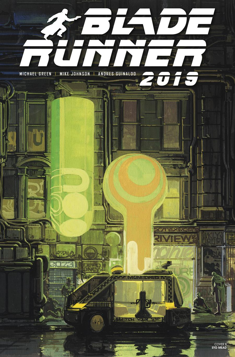 Blade Runner 2019 #5 Cover B Variant Syd Mead Cover