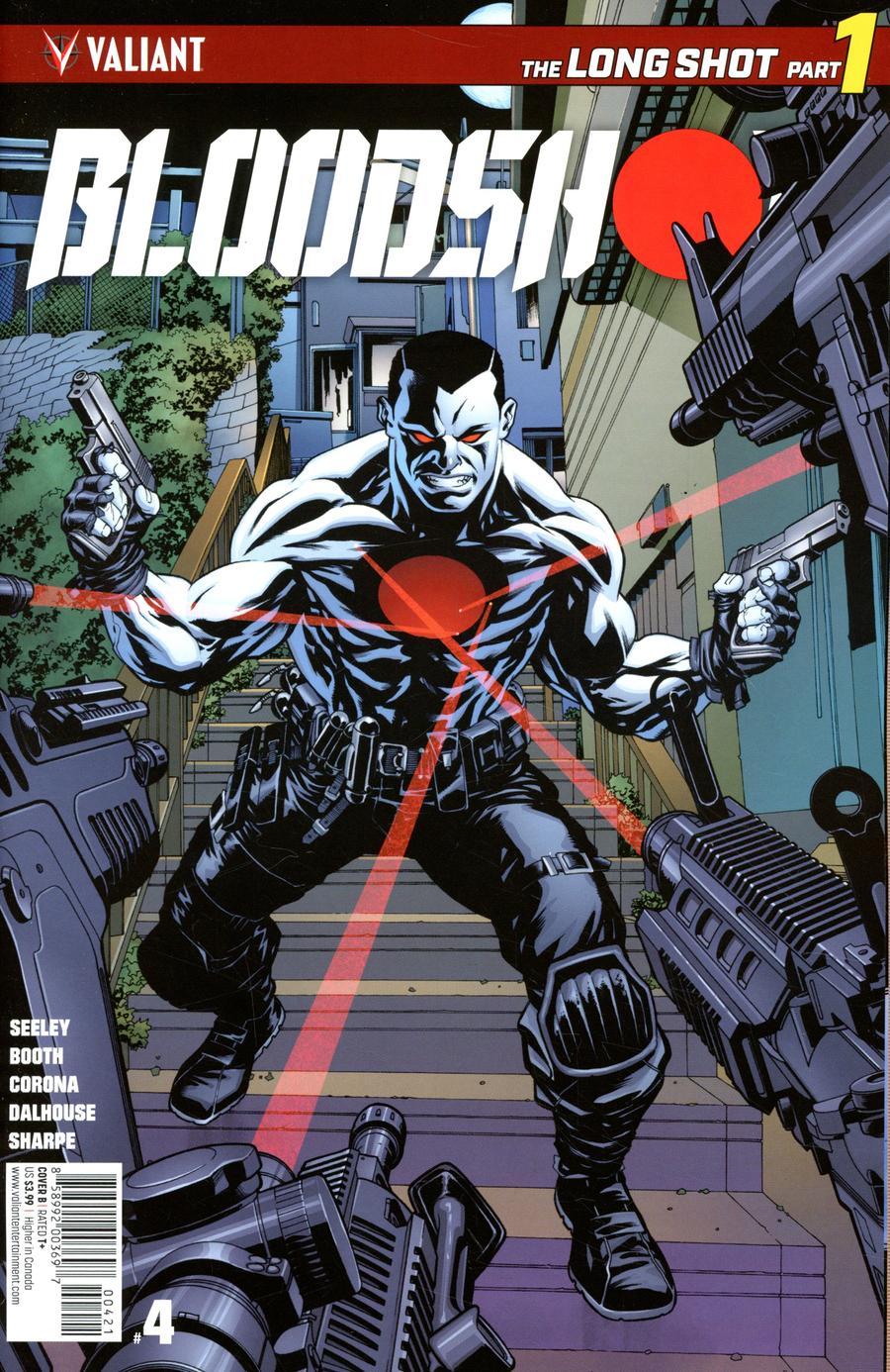 Bloodshot Vol 4 #4 Cover B Variant Mike McKone Cover