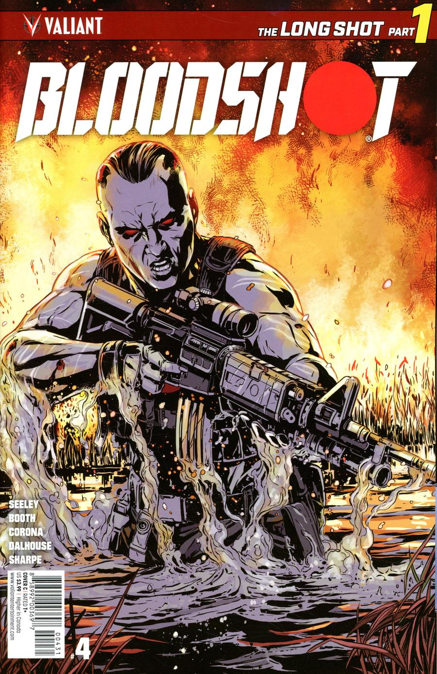 Bloodshot Vol 4 #4 Cover C Variant Marc Laming Cover