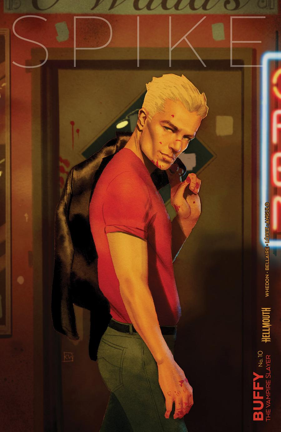 Buffy The Vampire Slayer Vol 2 #10 Cover B Variant Kevin Wada Cover (Hellmouth Tie-In)