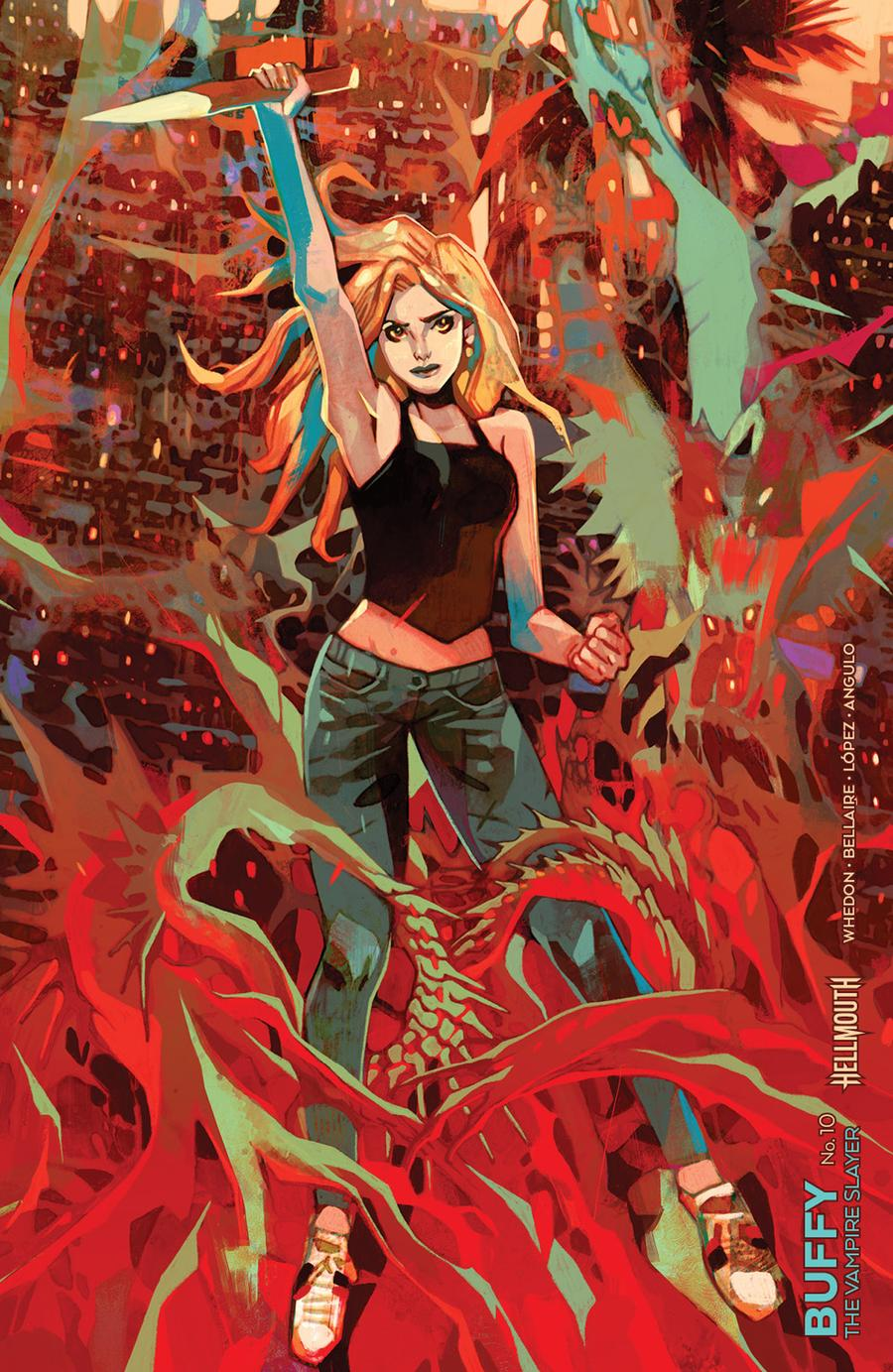 Buffy The Vampire Slayer Vol 2 #10 Cover C Variant Jakub Rebelka Connecting Cover (Hellmouth Tie-In)