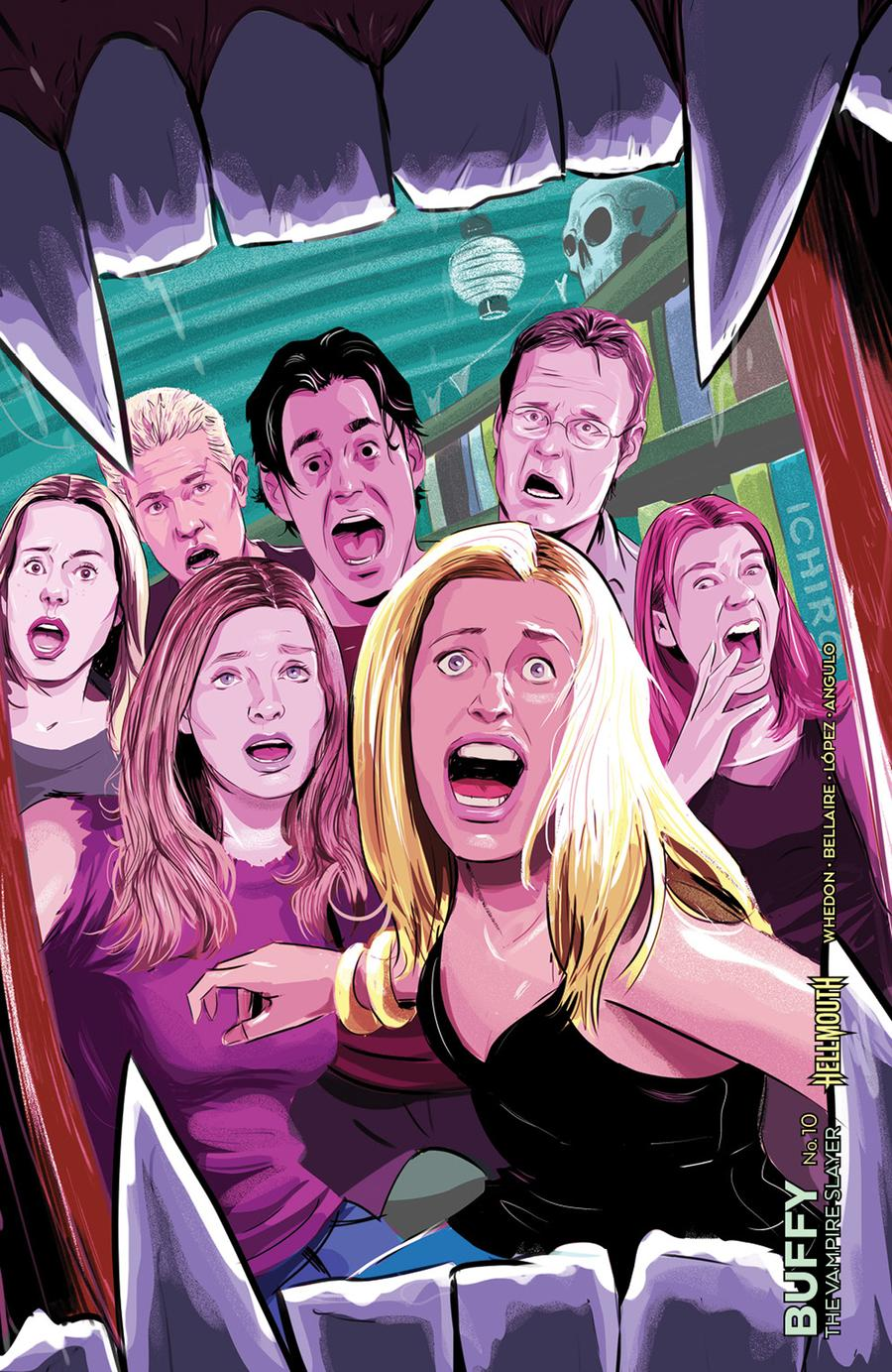 Buffy The Vampire Slayer Vol 2 #10 Cover D Variant Ryan Inzana Preorder Cover (Hellmouth Tie-In)