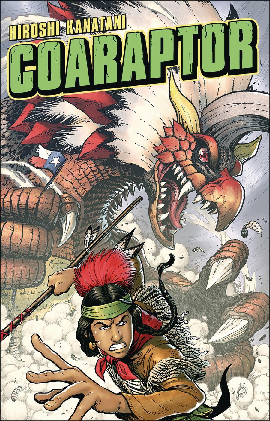 Coaraptor #1 Cover B Variant Matt Frank Monster Cover