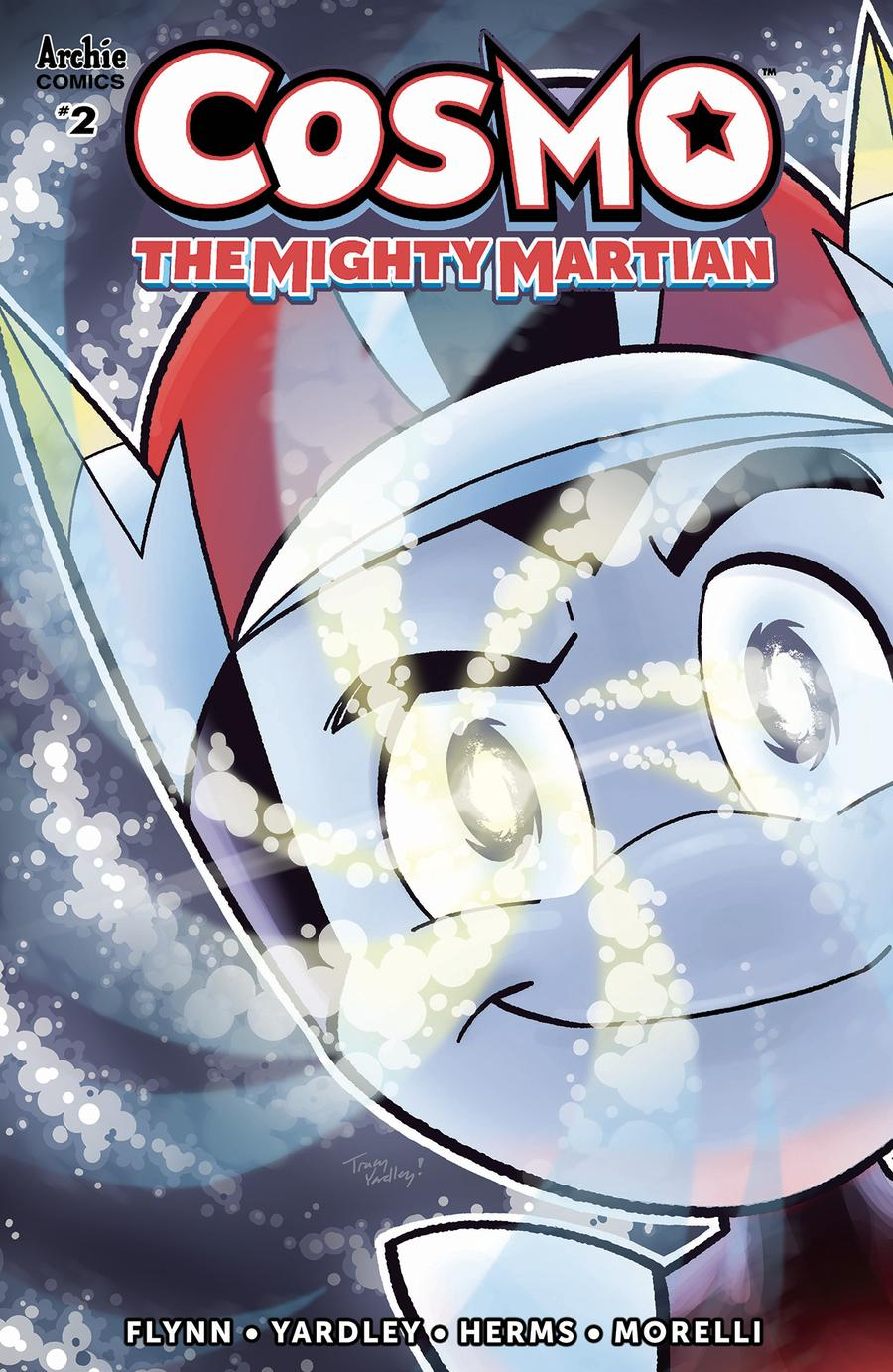 Cosmo The Mighty Martian #2 Cover A Regular Tracy Yardley Cover
