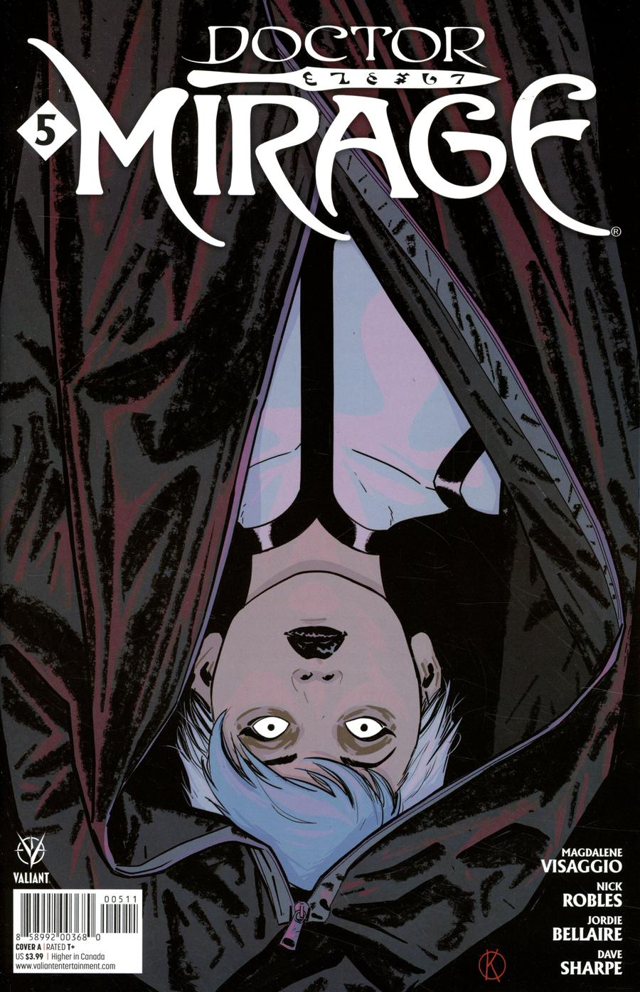 Doctor Mirage #5 Cover A Regular Kano Cover