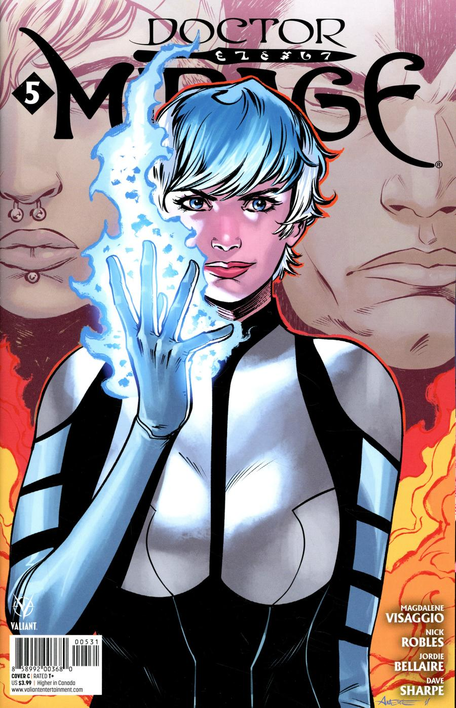 Doctor Mirage #5 Cover C Variant Aneke Cover