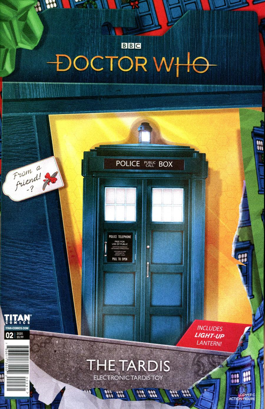 Doctor Who 13th Doctor Holiday Special #2 Cover C Variant Action Figure Cover