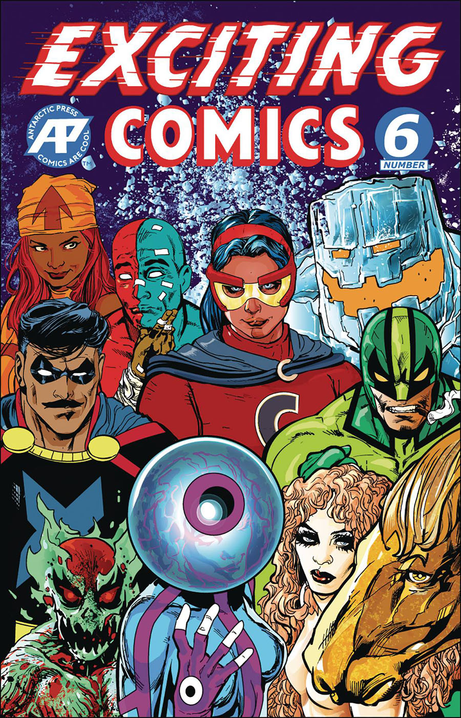 Exciting Comics Vol 2 #6 Cover B Variant Brian Denham Legacy Cover