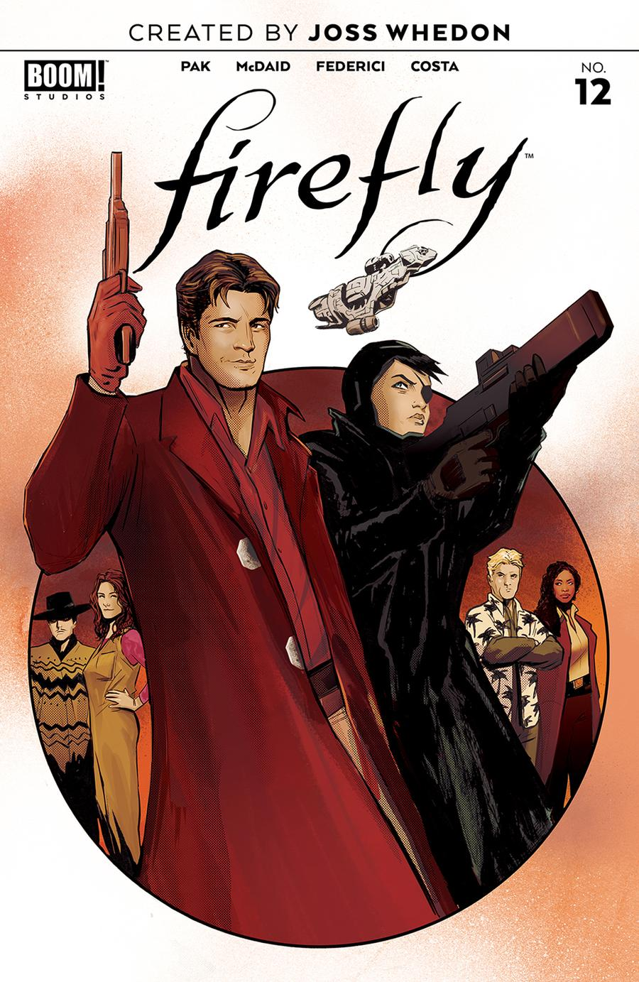 Firefly #12 Cover A Regular Lee Garbett Cover