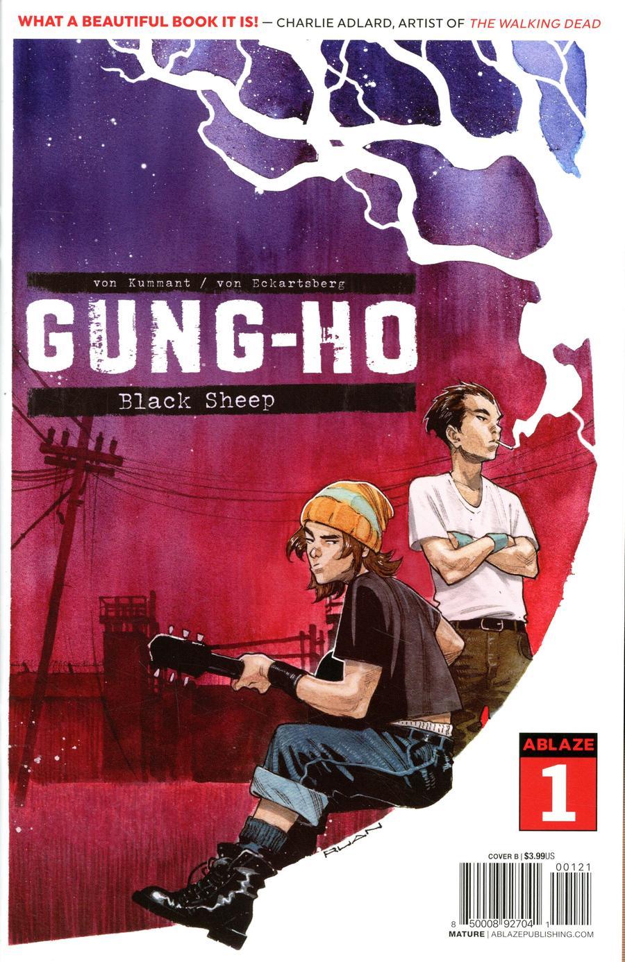Gung-Ho #1 Cover B Variant Dike Ruan Cover