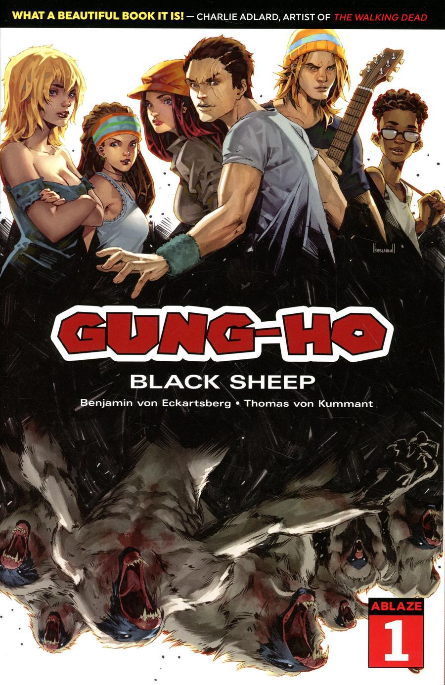 Gung-Ho #1 Cover C Variant Kael Ngu Cover