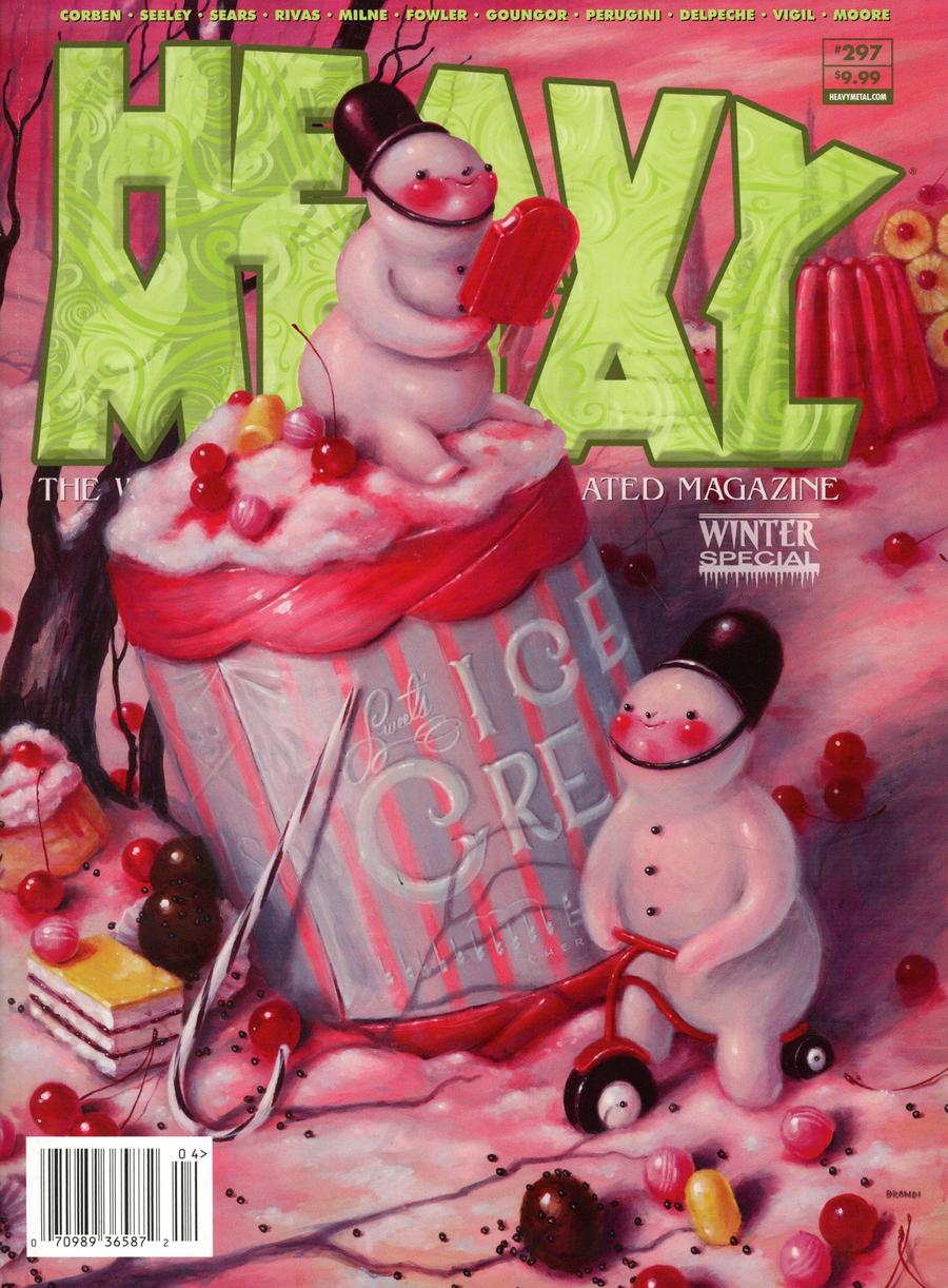 Heavy Metal #297 Cover B Jacques Parnel