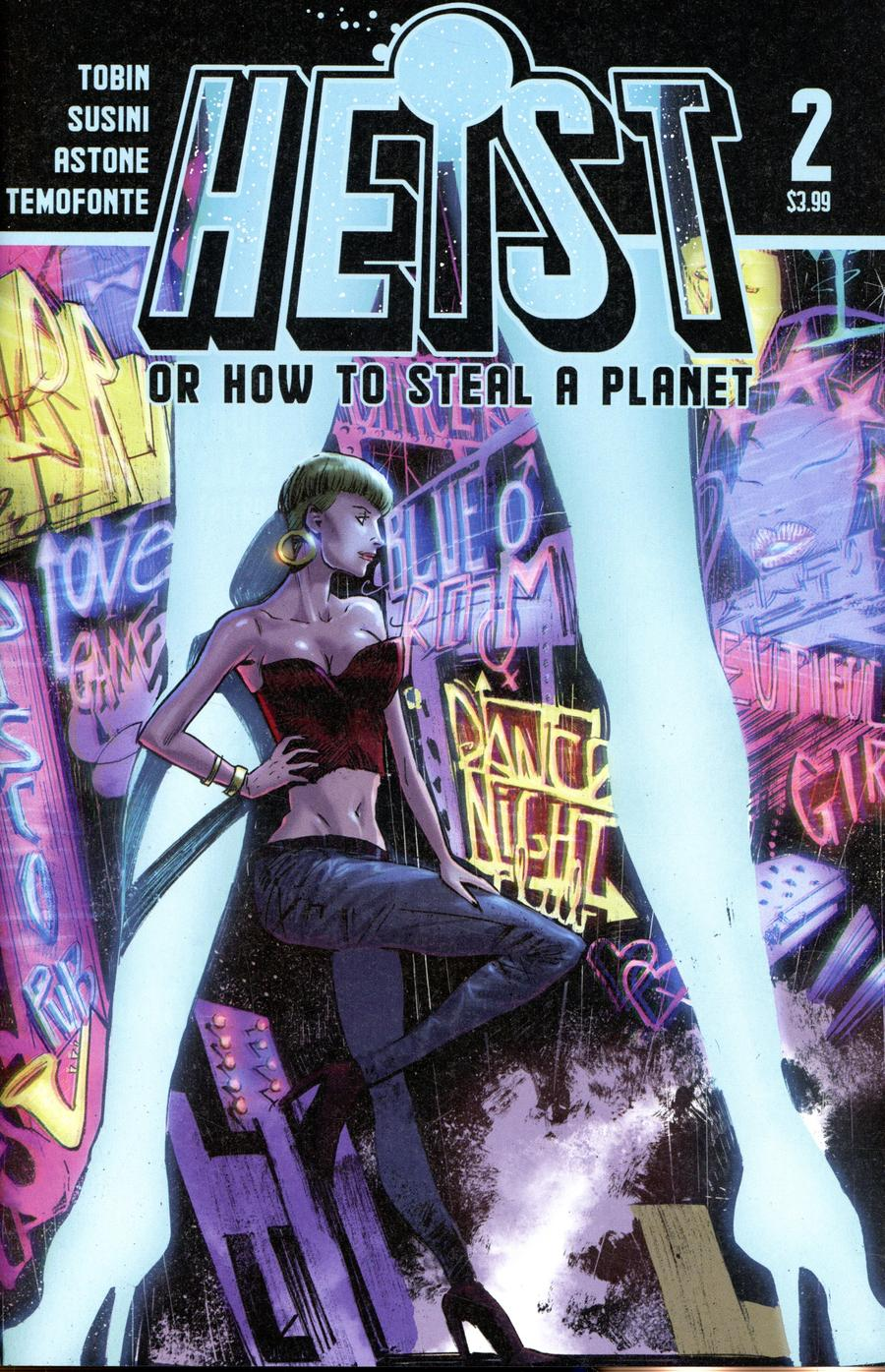 Heist Or How To Steal A Planet #2