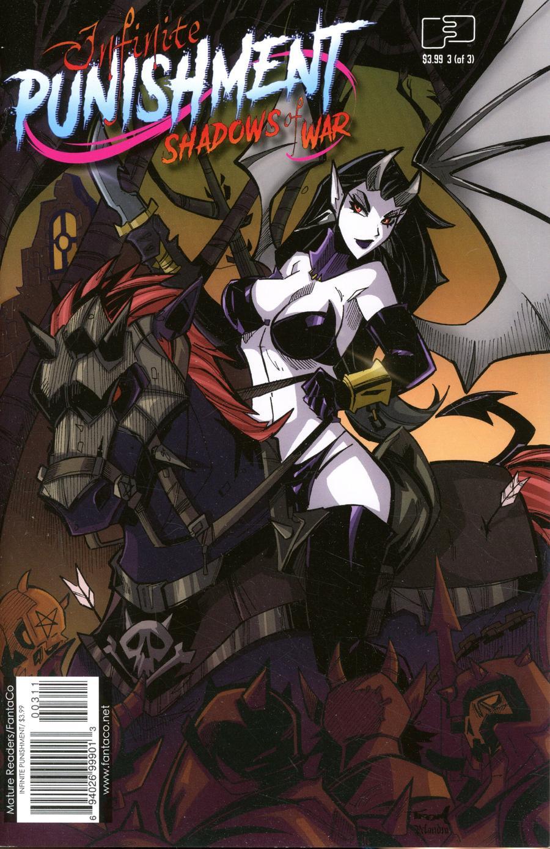 Infinite Punishment Shadows Of War #3 Cover A Regular Marcelo Trom Cover