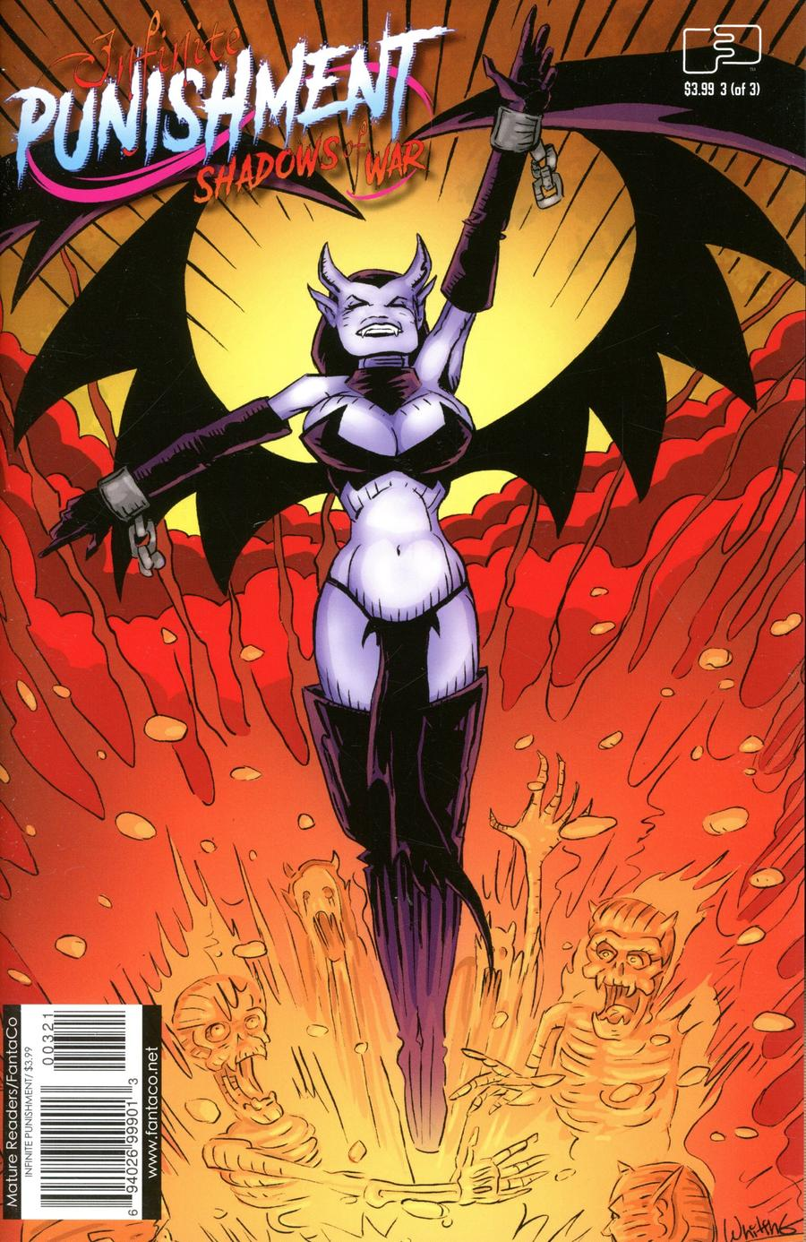 Infinite Punishment Shadows Of War #3 Cover B Variant Jim Whiting Cover