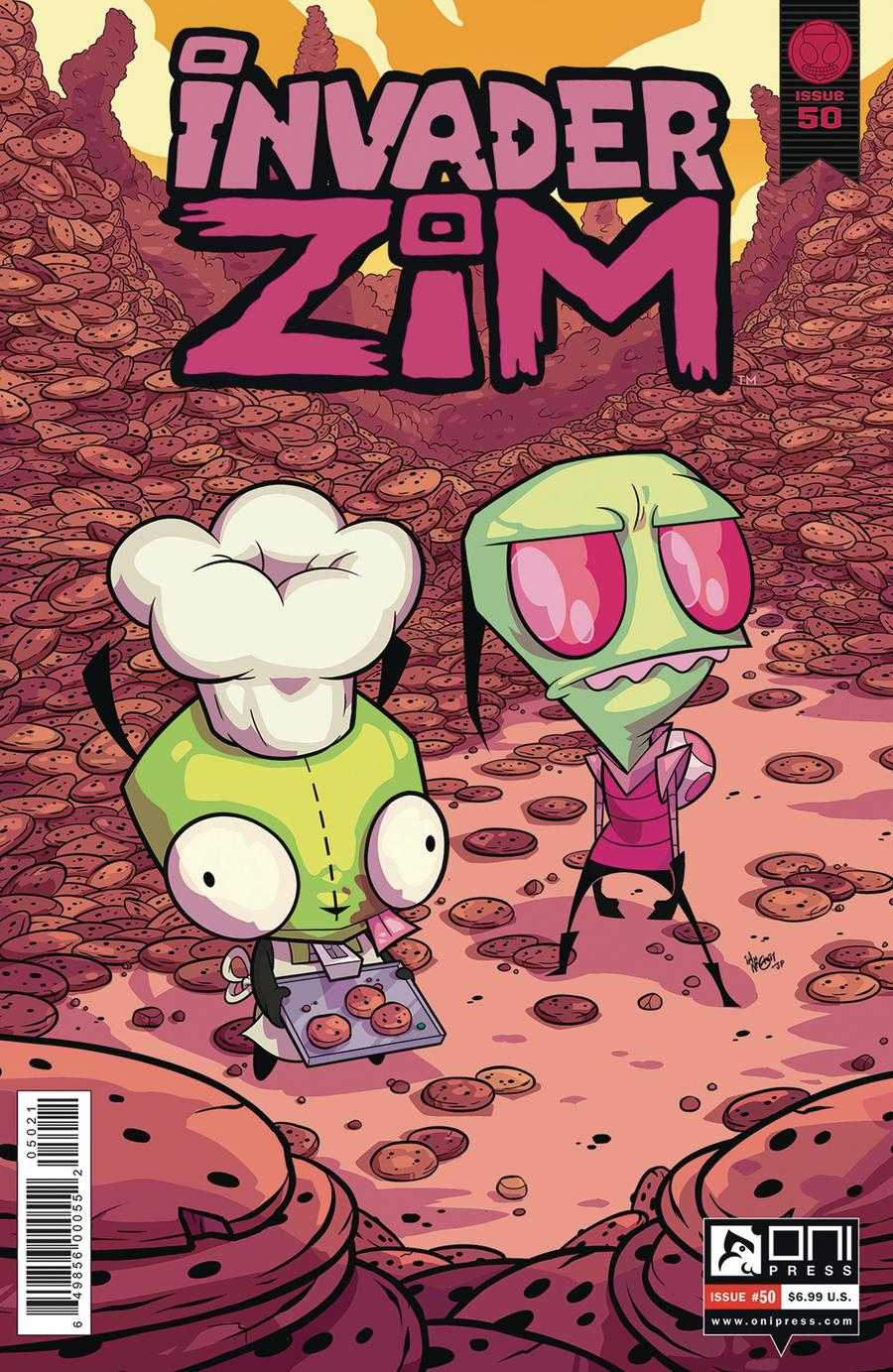 Invader Zim #50 Cover B Variant Ian McGinty & Joven Paul Cover