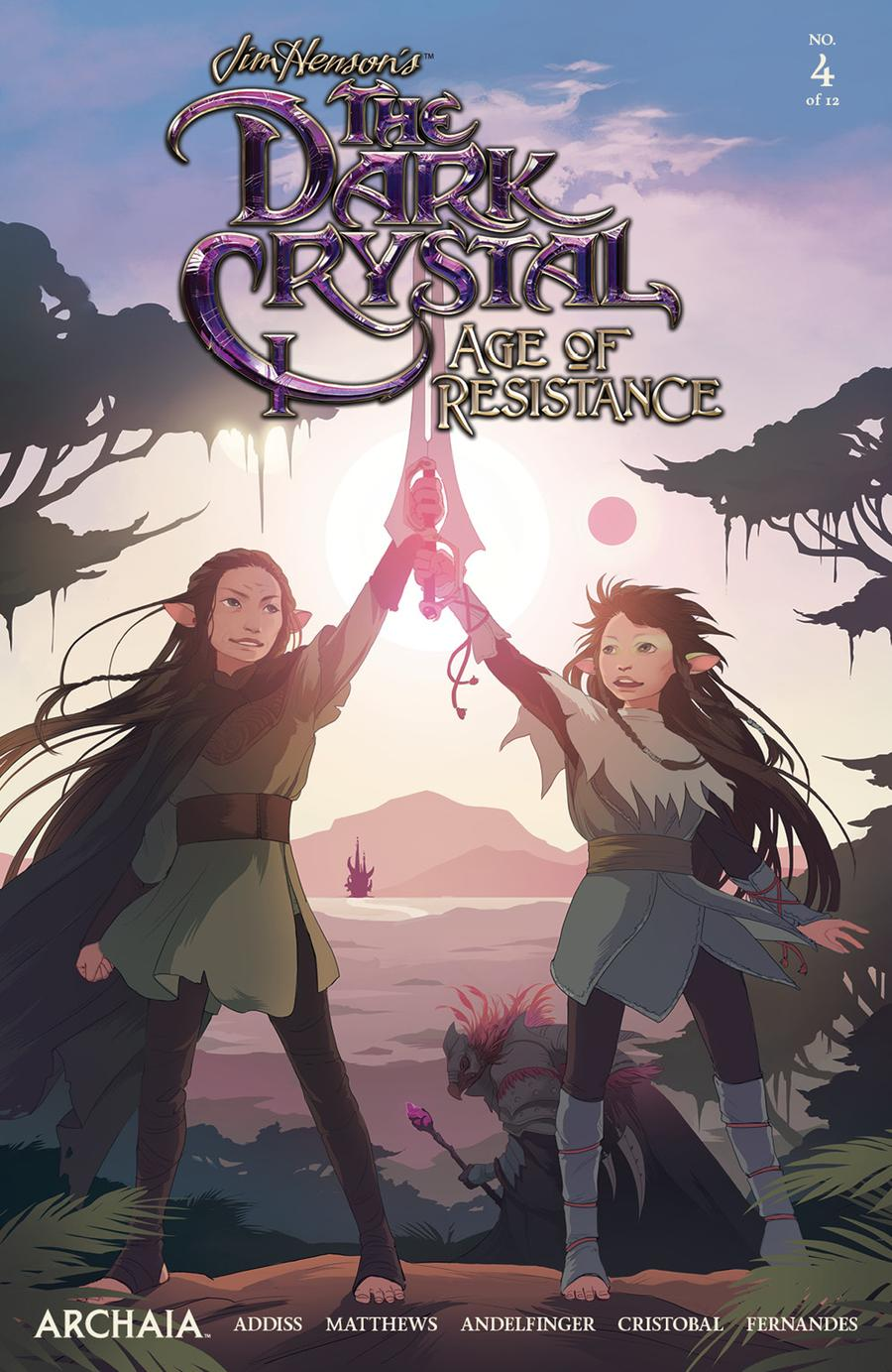 Jim Hensons Dark Crystal Age Of Resistance #4 Cover A Regular Mona Finden Cover
