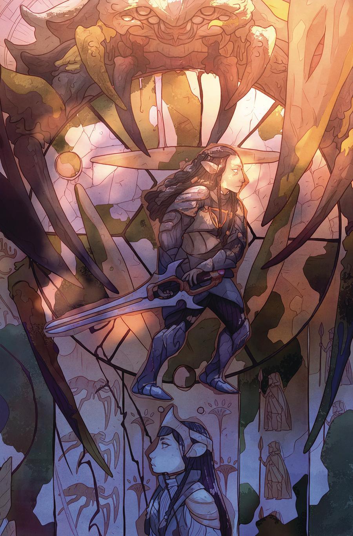 Jim Hensons Dark Crystal Age Of Resistance #4 Cover B Variant Kelly Matthews & Nichole Matthews Cover