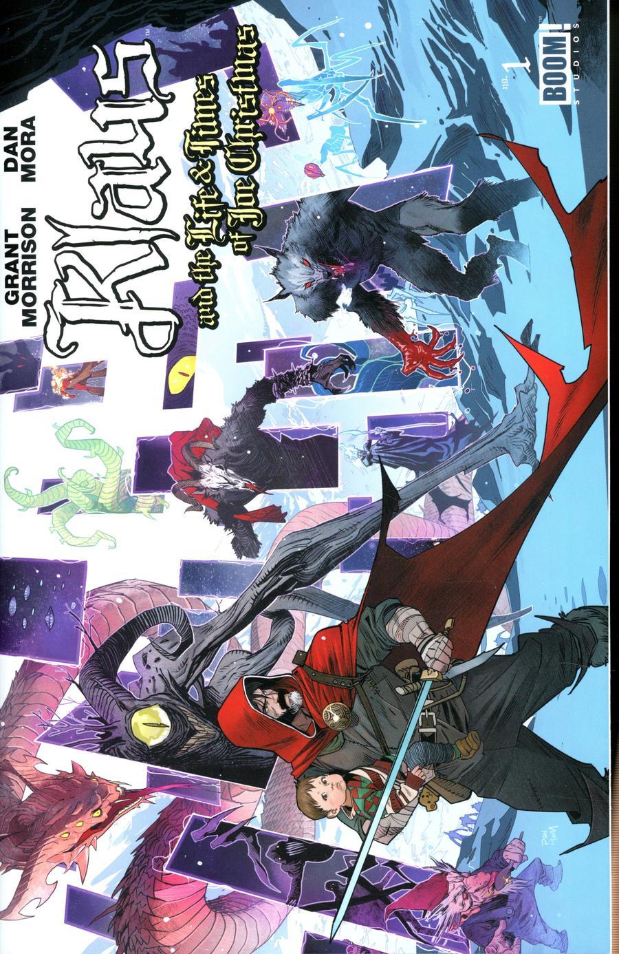 Klaus And The Life And Times Of Joe Christmas #1 Cover A Regular Dan Mora Cover