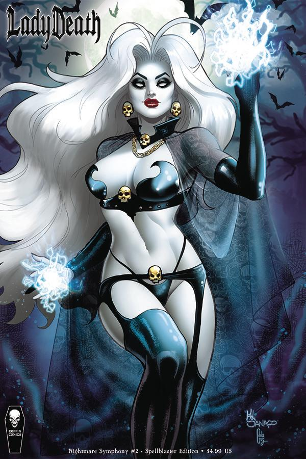 Lady Death Nightmare Symphony #2 Cover B Variant Maria Sanapo Spellblaster Cover