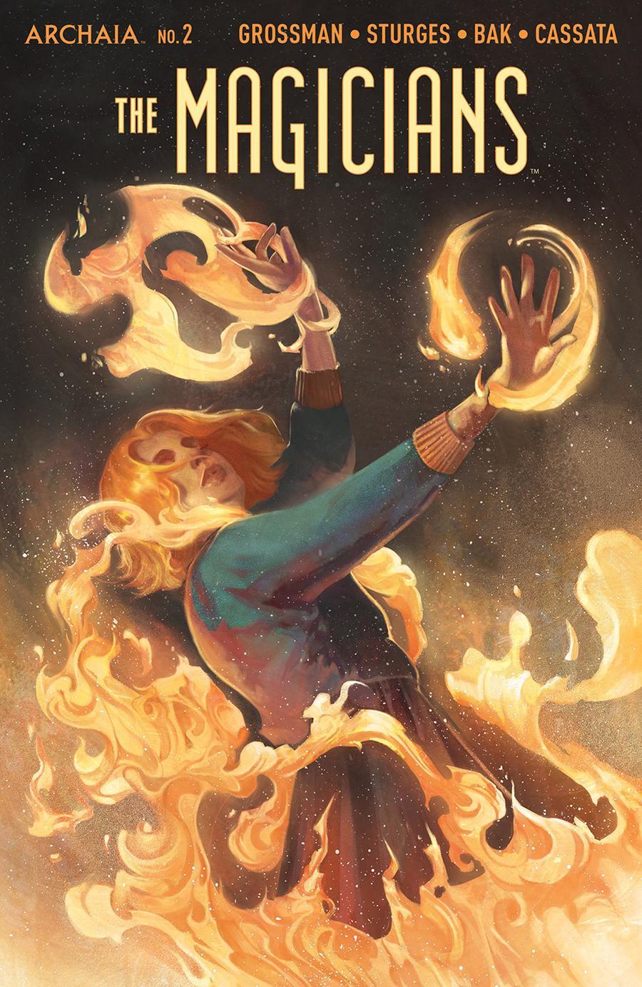Magicians #2 Cover A Regular Qistina Khalidah Cover