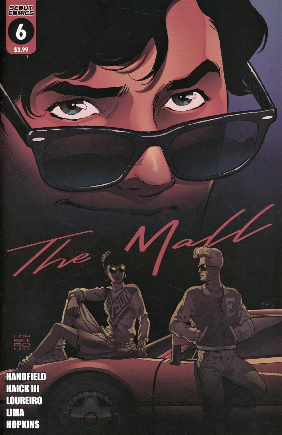 Mall (Scout Comics) #6 Cover B Variant Cover