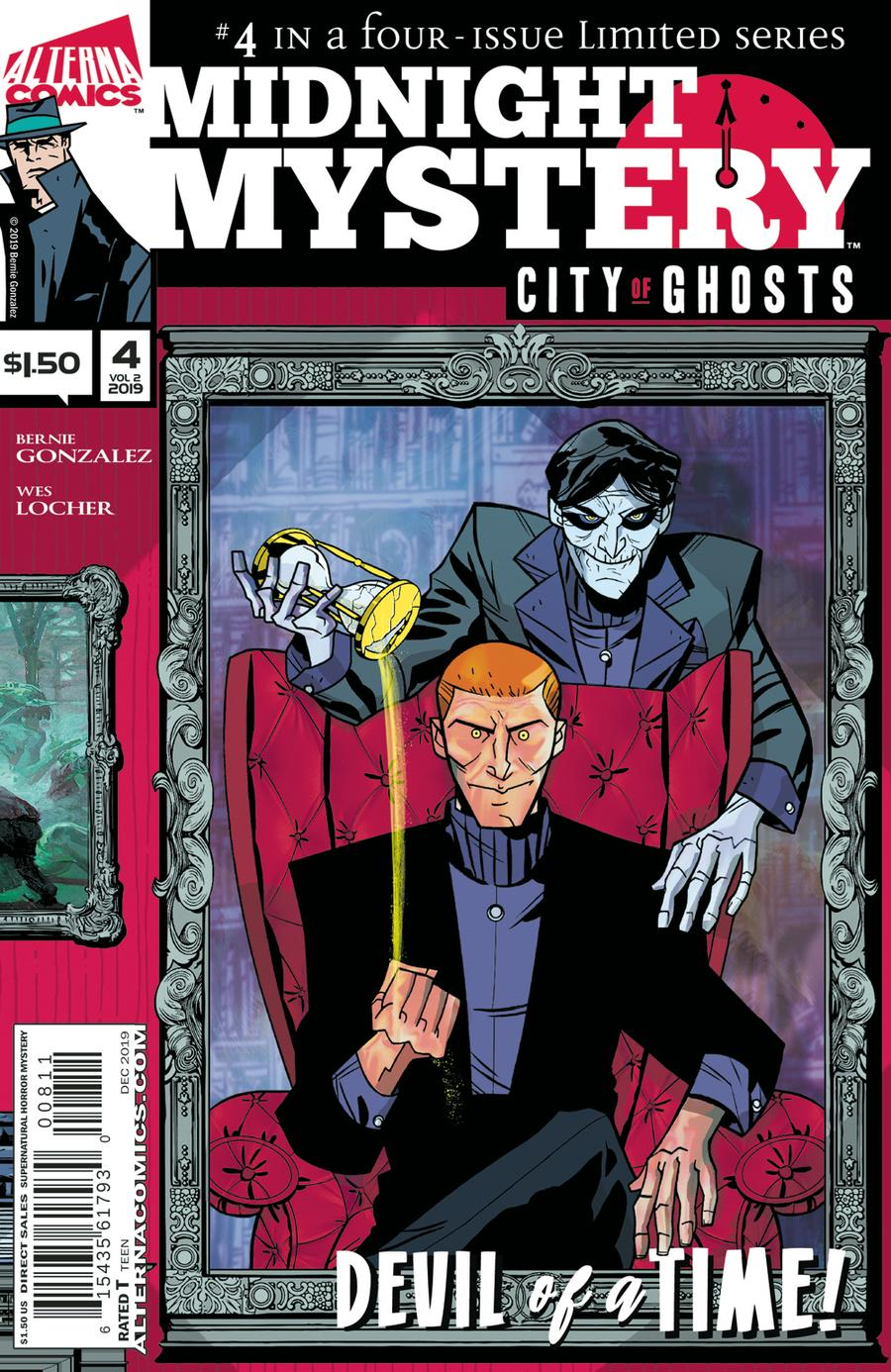 Midnight Mystery Vol 2 City Of Ghosts #4