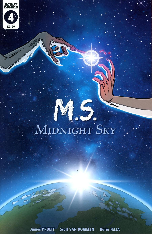 Midnight Sky #4 Cover B Variant Scott Van Domelen ET Homage Cover